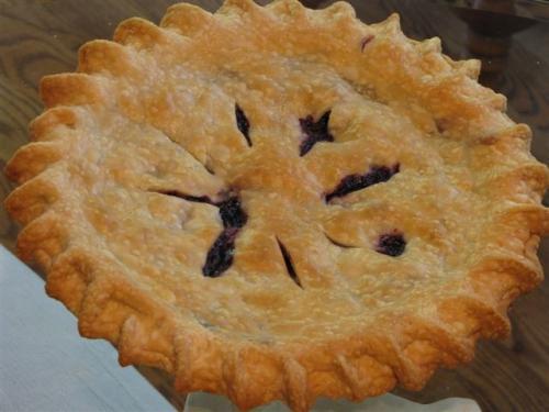 Blueberry Pie-  Blue Ribbon & Pillsbury Honorable Mention