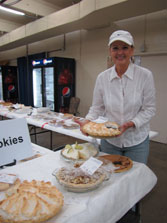 6 pies in final competition for Best of Show - TN State Fair 3 of them were Areeda's Winner: Areeda's Chocolate Meringue Pie